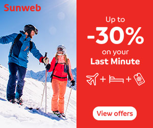 Sunweb Ski Holidays in Europe Resorts throughout France & Austria from £89 for 7nts accommodation inc 6-day lift pass