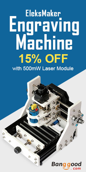 UP TO $107 OFF FOR EleksMaker® EleksMill CNC Micro Engraving Machine