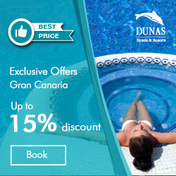 Dunas Hotels & Resorts -  - Hotels, Bungalows and Apartments in Gran Canaria