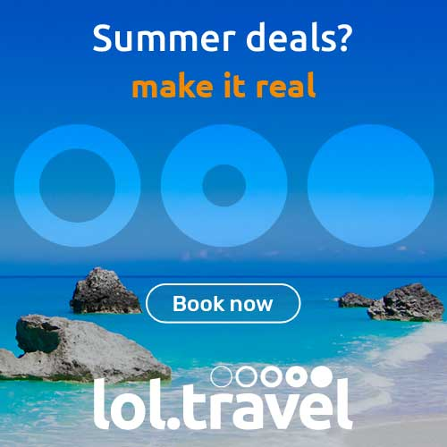 Hotels on sale at lol.travel