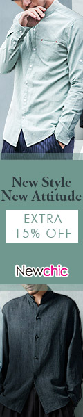 Extra 15% Off Men's Clothing at New Chic