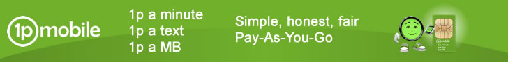 1pMobile - UK's cheapest PAYG tariff
