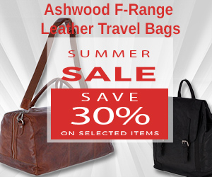 Aswood F-Range Leather Travel Bags