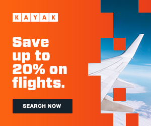 Kayak - save on flights