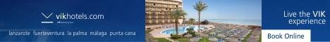 VIK Hotels in Spain, Dominican Republic, Chile & Uruguay