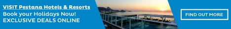 Pestana Hotels & Resorts in Portugal, Germany, UK, Argentina, Brazil, Venezuela, Cape Verde, Mozambique, South Africa and S�o Tom� & Pr�ncipe