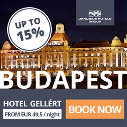 Danubius Hotels in Hungary, Great Britain, Czech Republic, Slovakia and Romania