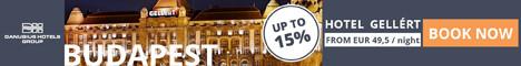 Danubius Hotels in Hungary, Great Britain, Czech Republic, Slovakia and Romania