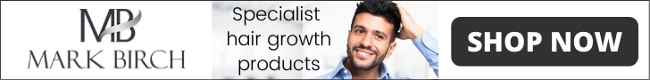 Mark Birch Hair Growth Products for Hair Loss