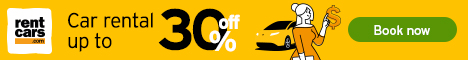 Car rental up to 30% off