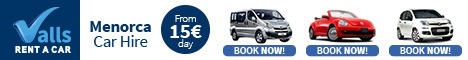 Autos Valls Menorca Car Hire