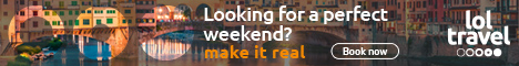 Lol.travel: choose among 300 000 hotel worldwide! Book Now!
