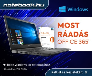 Ráadás Office 365 Windows-os notebookokhoz