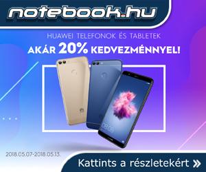 Huawei telefonok akár 20% kedvezménnyel