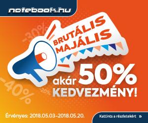 Brutális leárazás a Notebook.hu-n!