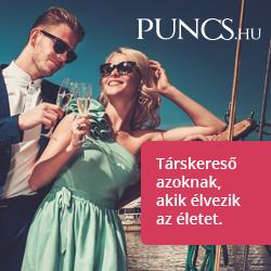 Puncs.hu - társkereső azoknak, akik élvezik az életet!