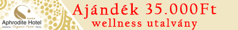 Minden vásárlásod után megajándékozunk egy 35.000 Ft értékű wellness utalvánnyal.