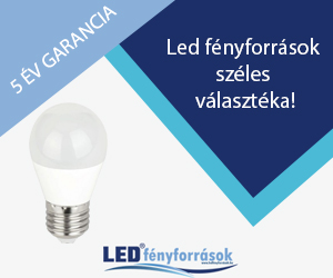 Led izzók kedvezményes áron, 5 év garanciával