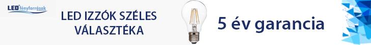 LED itzzók kedvezményes áron, 5 év garanciával