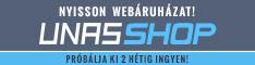 UNAS webshop! Próbáld ki 2 hétig ingyen!