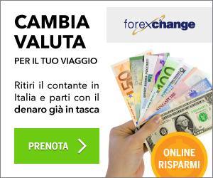 Scegli la valuta per il tuo viaggio!