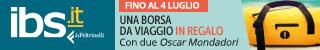Su IBS una borsa da viaggio in regalo con due libri Oscar Mondadori!