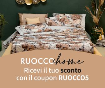 Acquista la tua biancheria di casa e utilizza il coupon RUOCCO5
