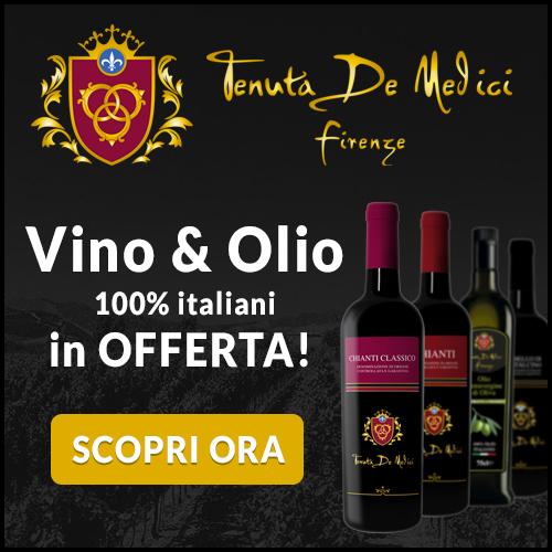Vino & Olio 100% italiani in offerta!