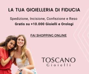 Toscano Gioielli - Banner