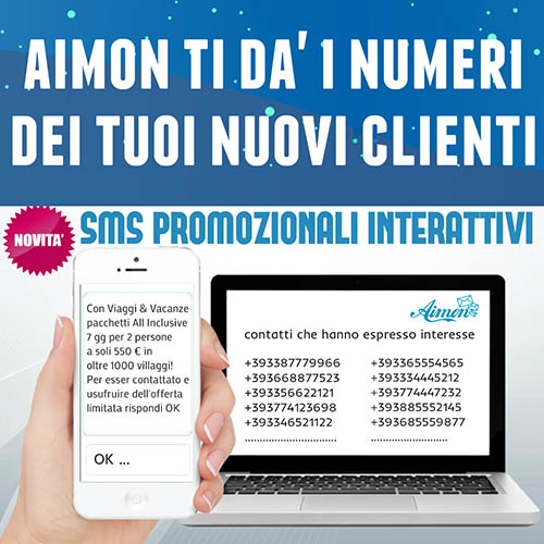 Aimon ti dà i numeri dei tuoi nuovi clienti