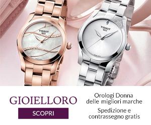 Scopri la collezione orologi per lei su Gioielloro!