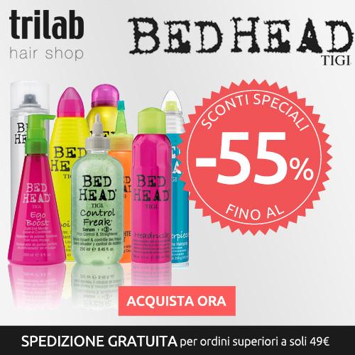 Trilab Hair Shop <b>Prodotti Tigi Bed Head Online.</b> Approfitta Ora - <b>Sconti fino al 55%!</b>