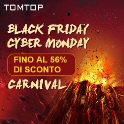 Black Friday Cyber Monday  , Fino al 56% di sconto