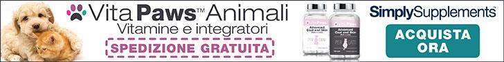 Vita Paws Integratori per cani e gatti
