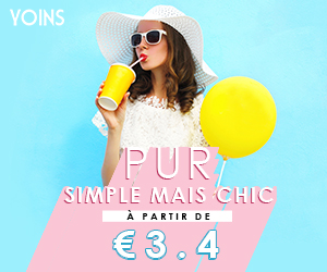PUR SIMPLE MAIS CHIC À PARTIR DE €3.4