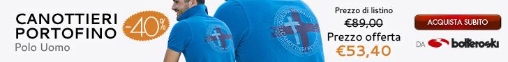Polo Canottieri Portofino in offerta a 53,40€ da Botteroski