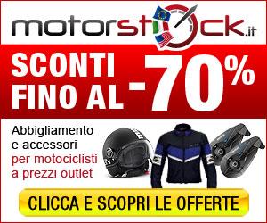 Motorstock.it abbigliamento e accessori per motociclisti con sconti fino al -70%
