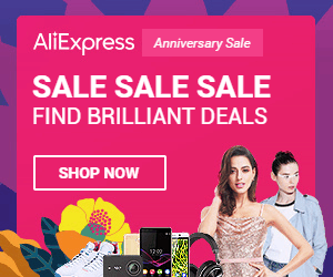 7°Anniversary Sale - Ali Express