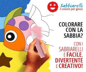Colorare con la Sabbia? Con i Sabbiarelli è Facile, Divertente e Creativo!
