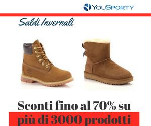 Pre-Saldi YouSporty  -40%
