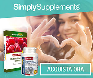 Integratori alimentari naturali Simply Supplements.