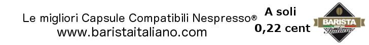 codice promozionale barista italiano