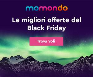 Negozi Momondo Black Friday