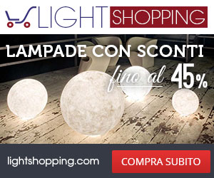Light Shopping - Lampadari scontati fino al 45%
