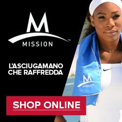 Prova Mission, l'asciugamano che raffredda e ti aiuta a migliorare la performance sportiva!