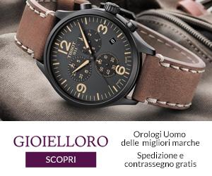 Scopri la collezione orologi per lui su Gioielloro!
