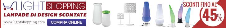 Light Shopping - Lampade di design a prezzi scontati