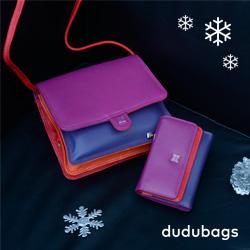 Portafogli e borse in pelle nappa colorati per i regali di Natale