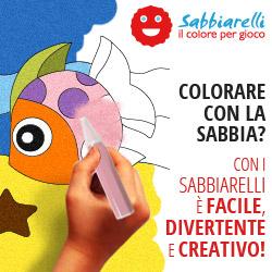 Colorare con la Sabbia? Con i Sabbiarelli � Facile, Divertente e Creativo!