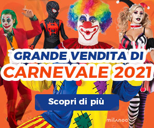 Milanoo - CARNEVALE 2021